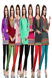 LADIES SHORT KURTIS COMBOS